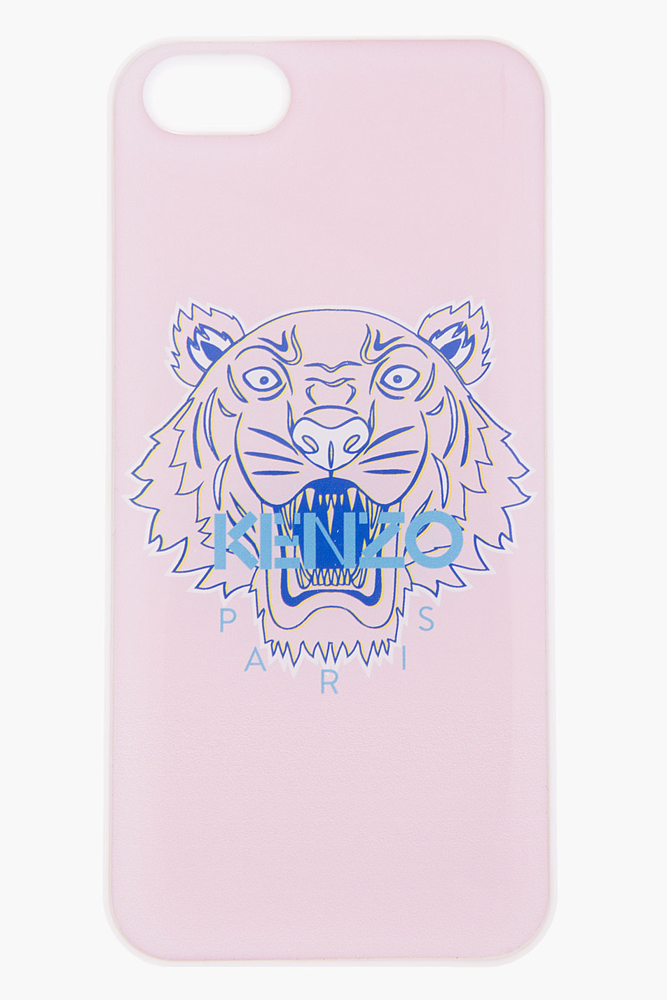 new product e3d11 1c99e KENZO Black Pink Tiger Head Iphone 5 Case