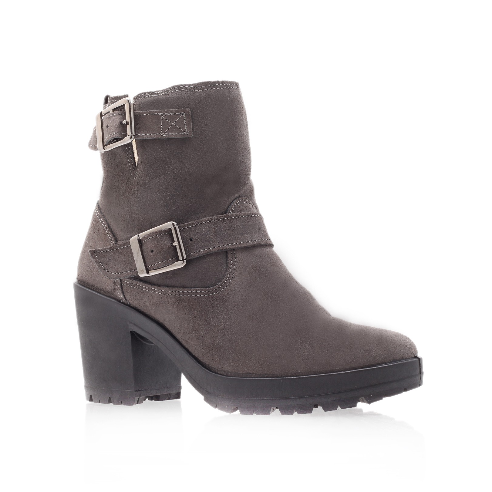 miss kg harry ankle boots in gray light grey lyst