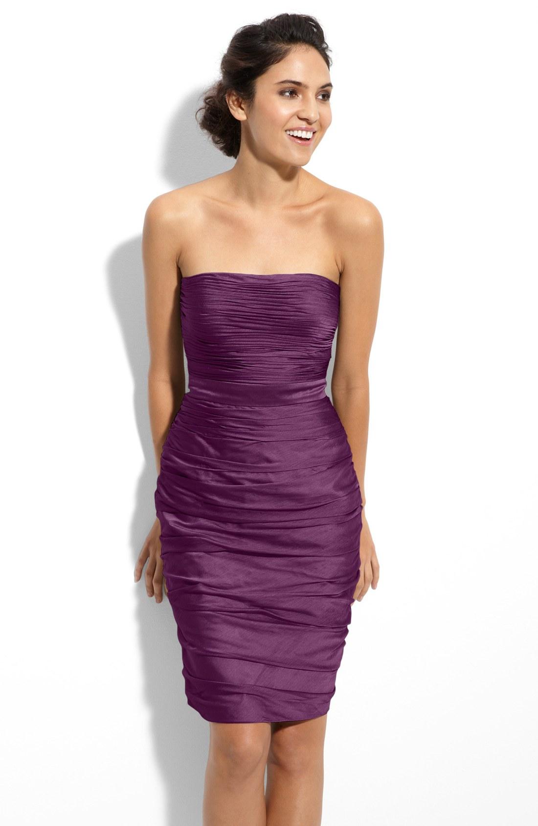 Fantástico Vestidos De Dama Nordstroms Imagen - Vestido de Novia ...