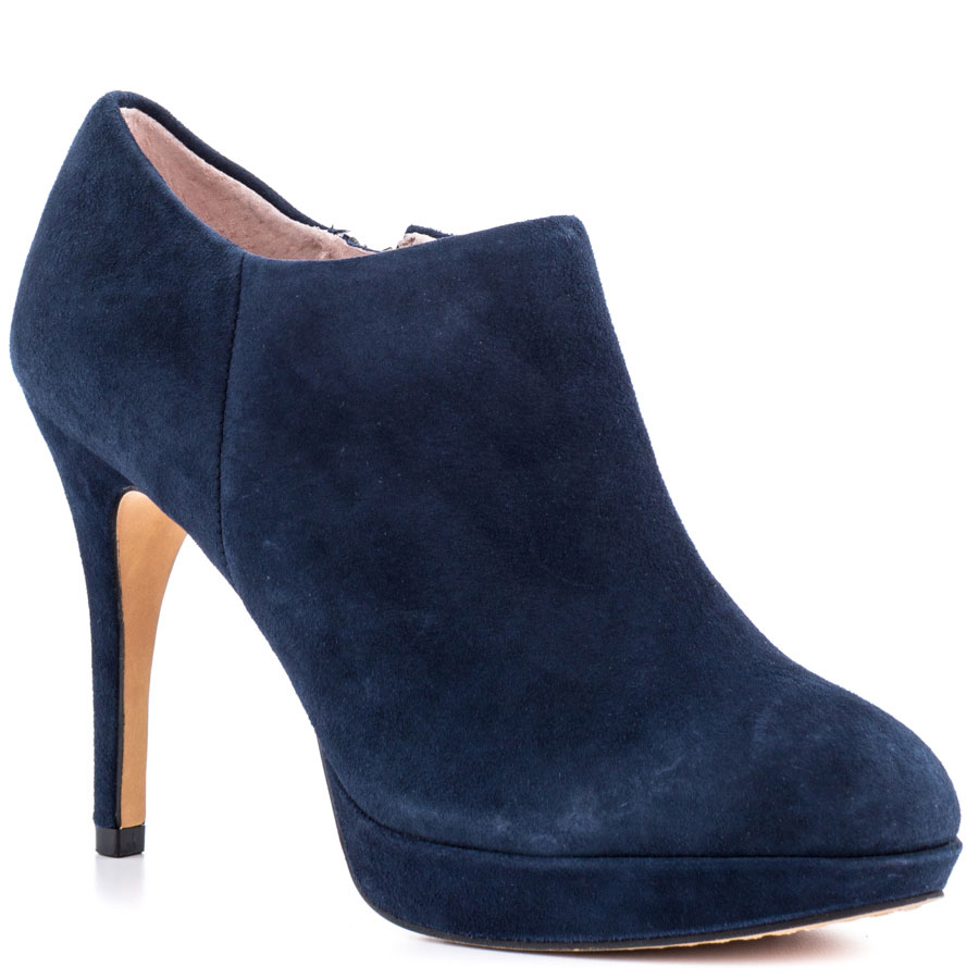 Vince Camuto Elvin Blue Ankle Shoes In Blue Navy Lyst