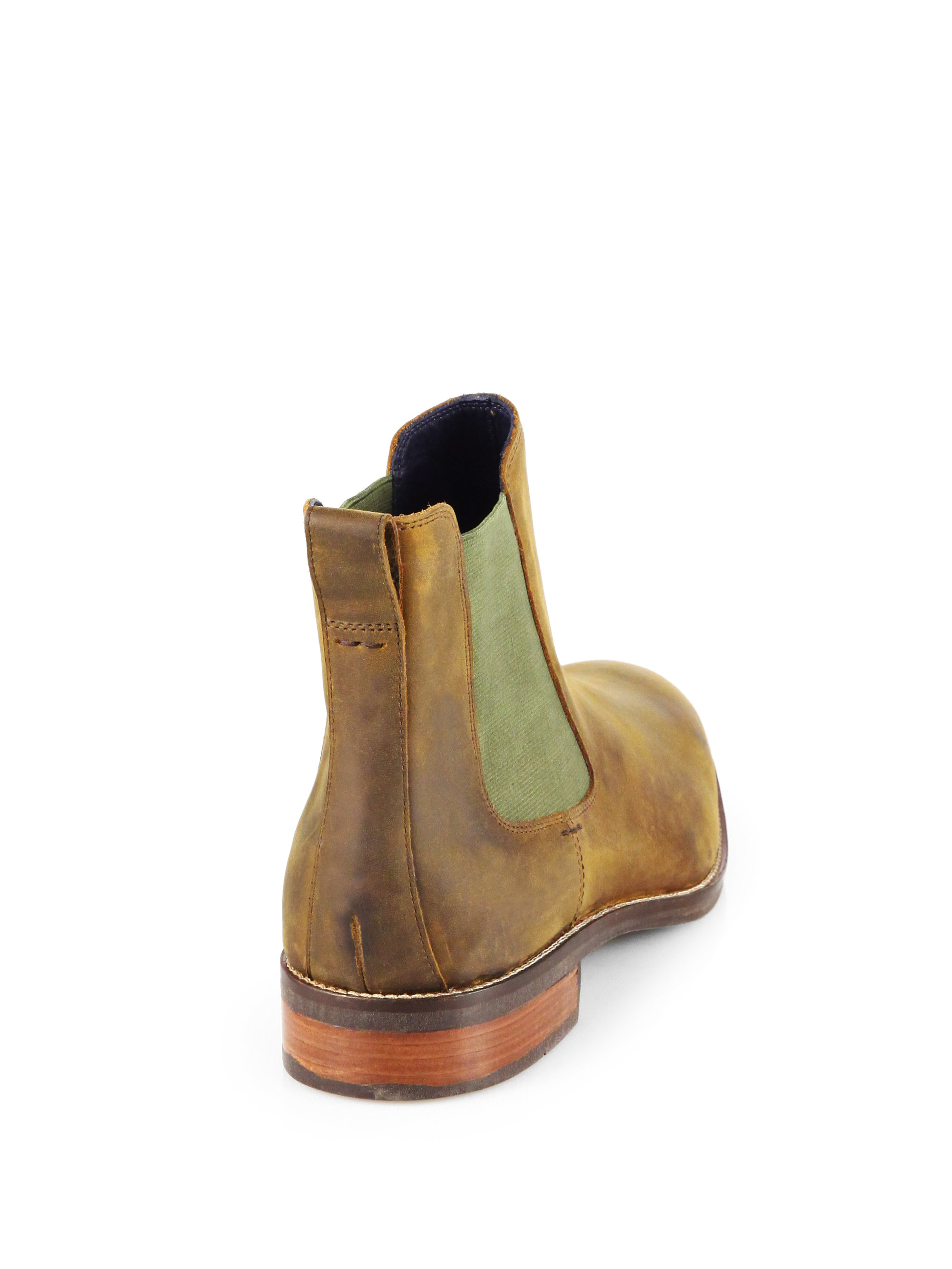 579ee6a4db3 Cole Haan Brown Lenox Hill Chelsea Boots for men