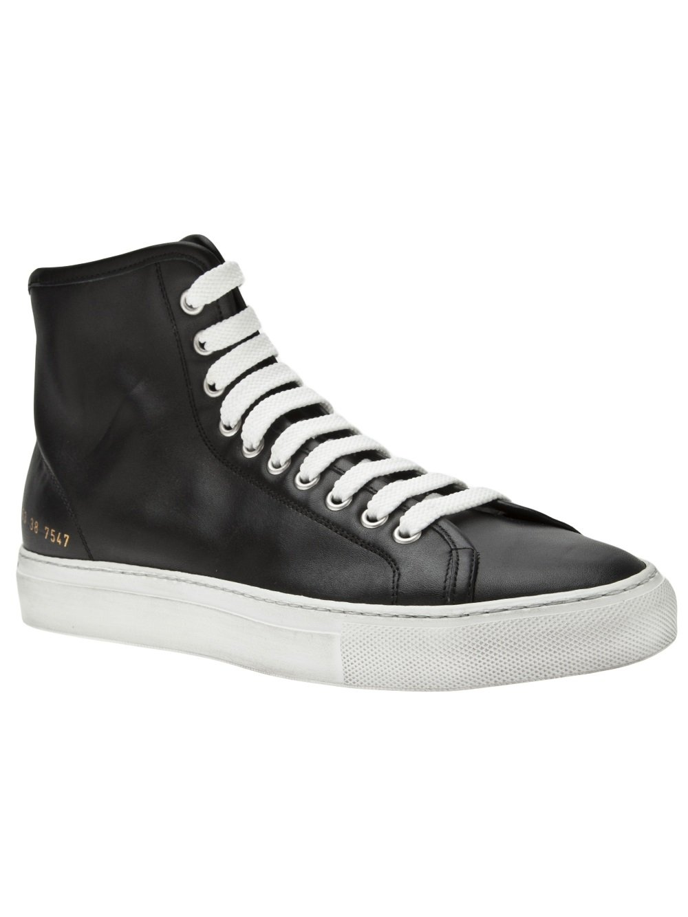 Lyst Common Projects Tournament High Top Sneaker In Black