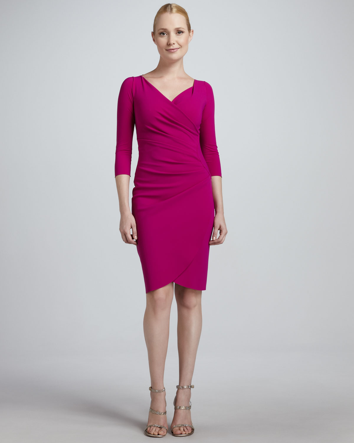 Chiara Boni The Most Popular Dress In America: La Petite Robe Di Chiara Boni Fauxwrap Cocktail Dress In
