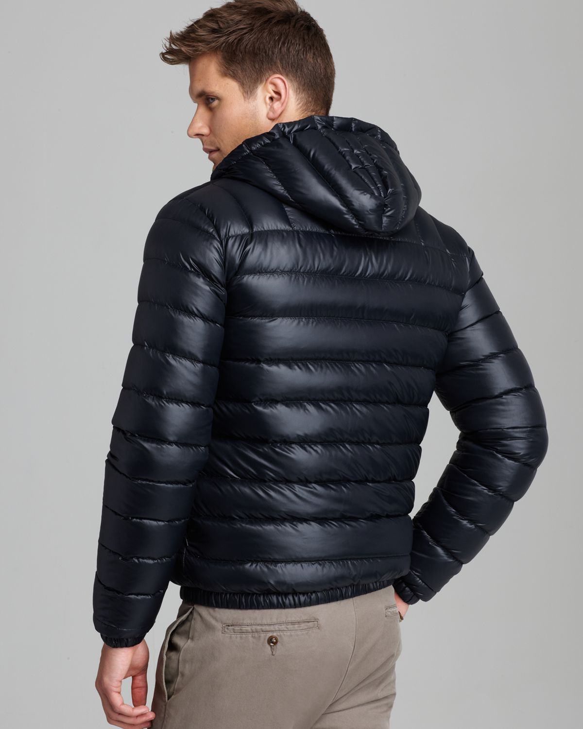 95ba70dd0 Lyst - Lacoste Featherweight Packable Down Jacket in Black for Men