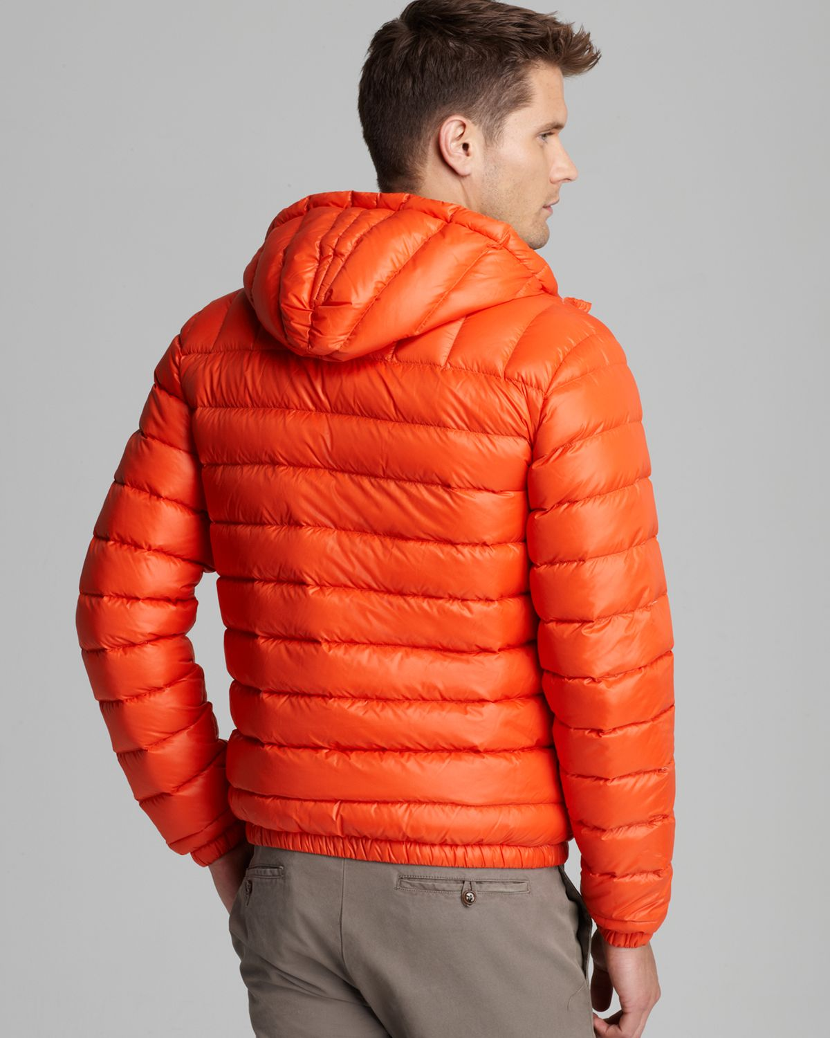 Lyst Lacoste Featherweight Packable Down Jacket In