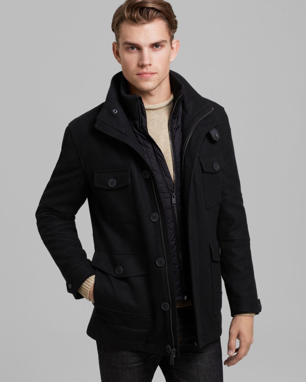 Marc new york leather jacket men