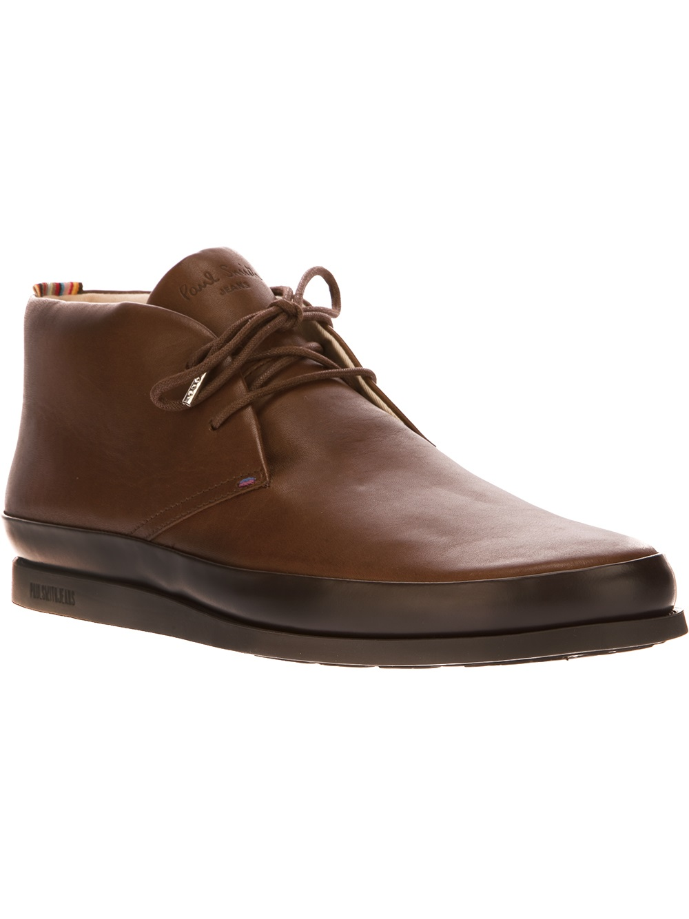 214e91d8580 Paul Smith Brown Loomis Chukka Boot for men