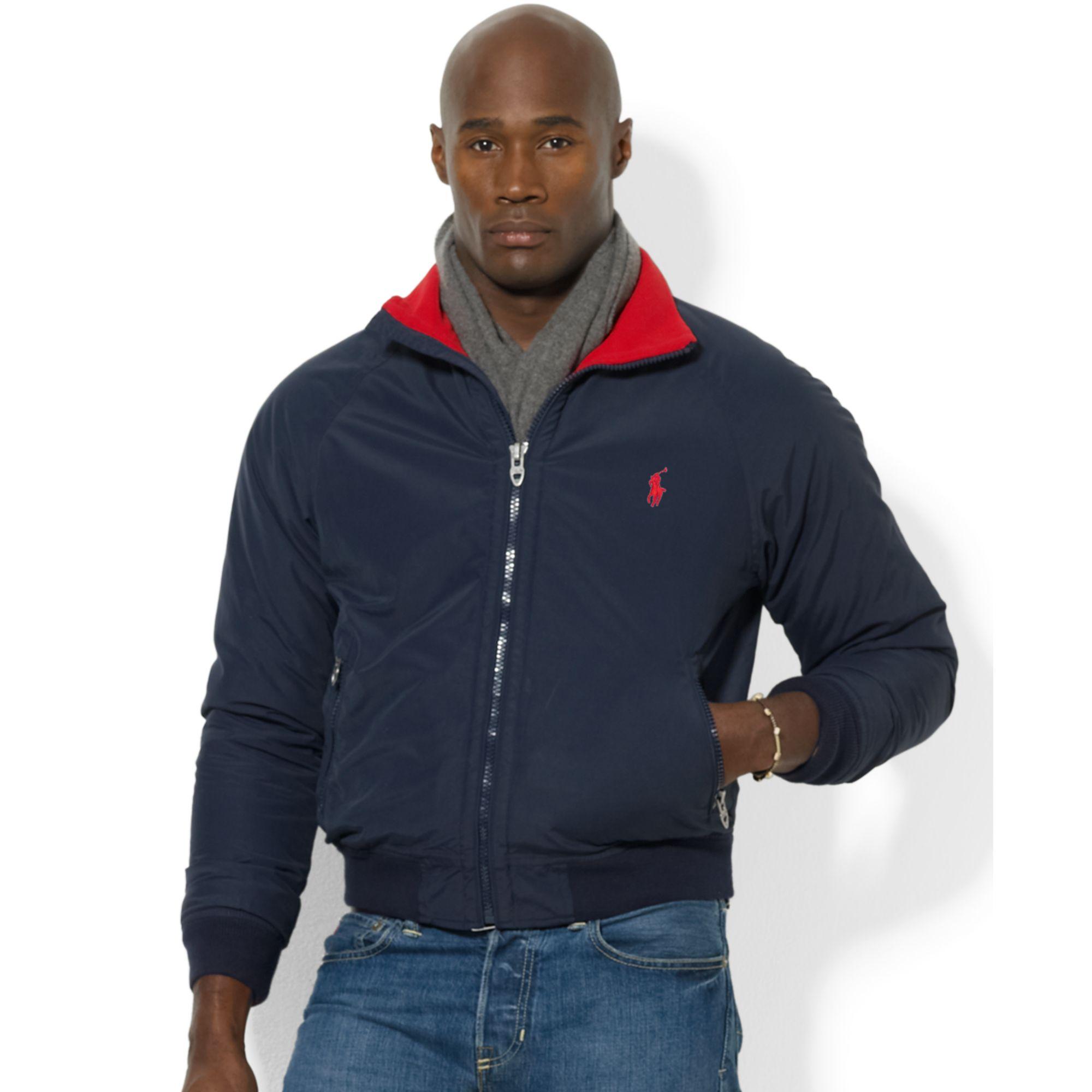 Lyst Ralph Lauren Portage Jacket In Blue For Men