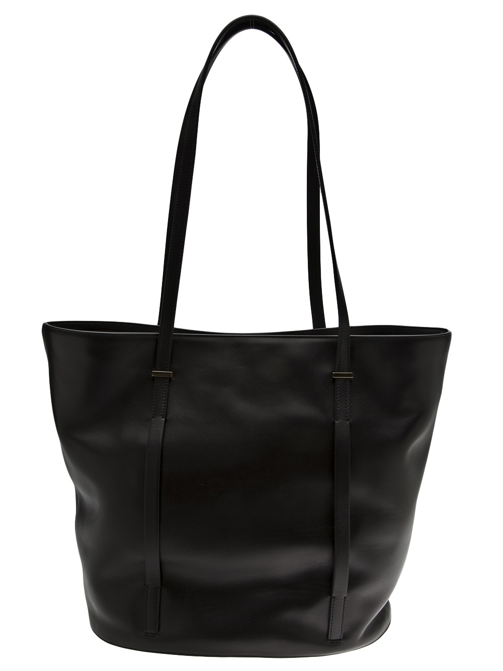 The Row The Row Large Tote Bag In Black Lyst