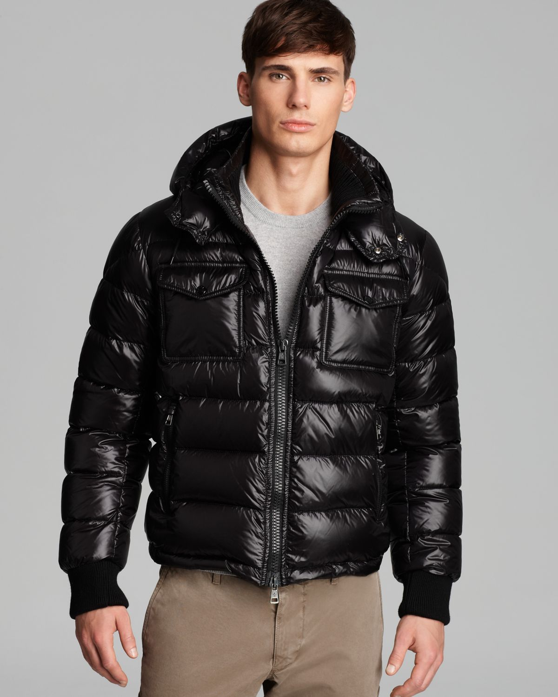 fb40677e4 wholesale moncler shiny black jacket 98286 3f809