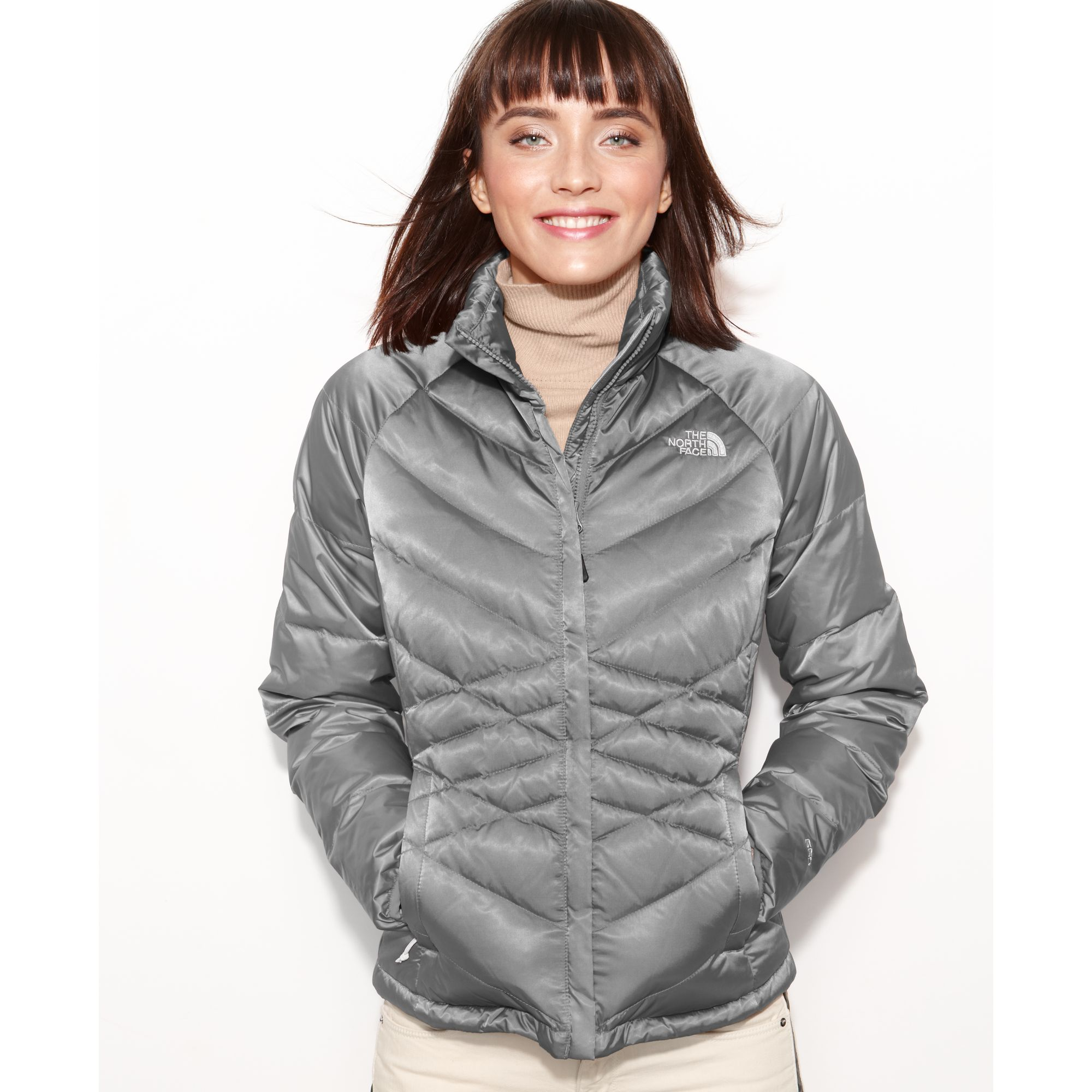 ... czech lyst the north face aconcagua quilted down puffer in gray 8cf5d  1f157 82b5e5f25