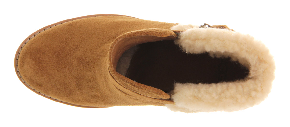 ugg australia anais wedge ankle boots