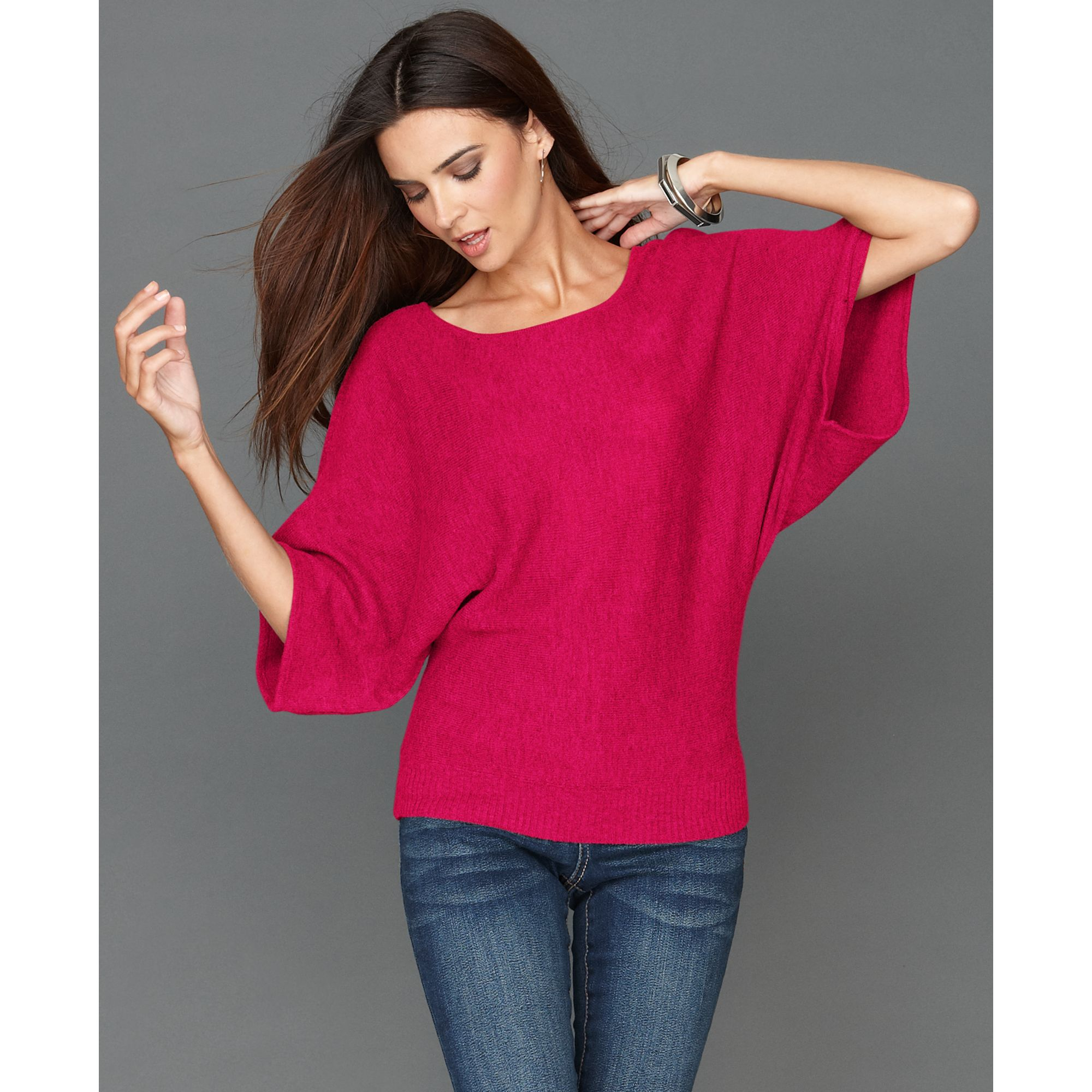 Lyst Inc International Concepts Dolman Sleeve Sweater In