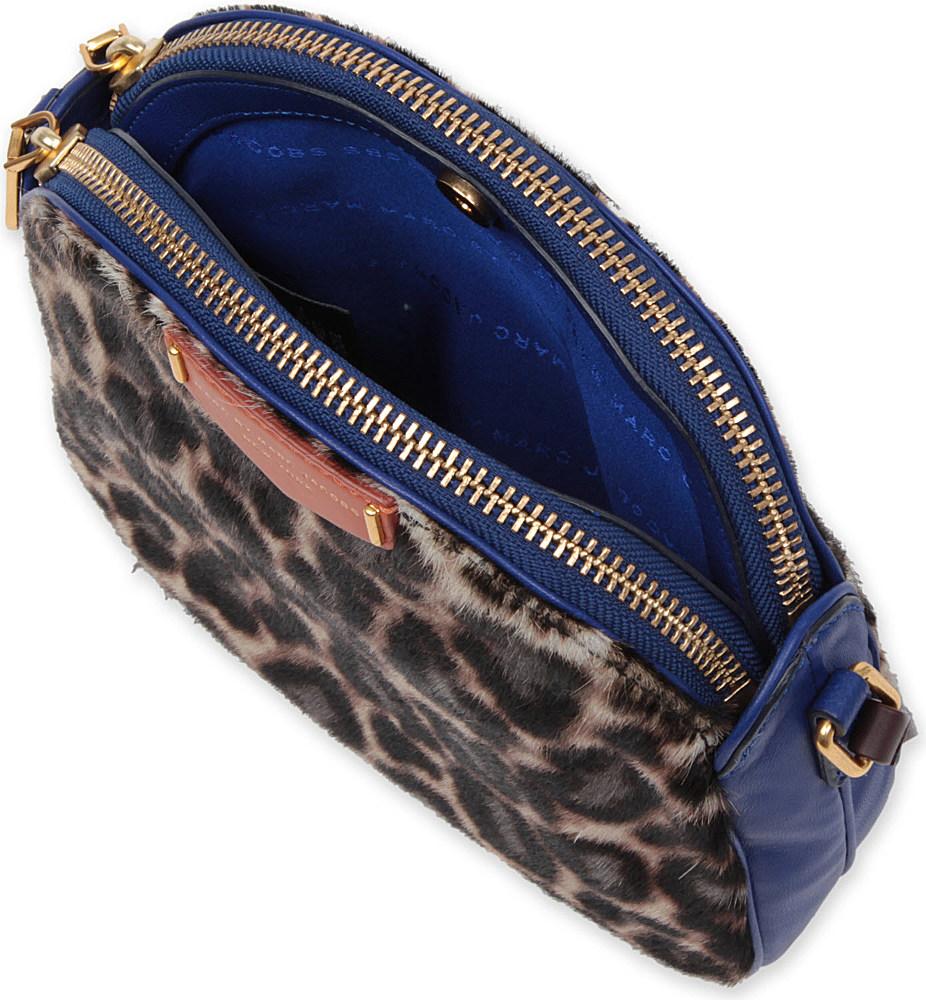 Marc By Marc Jacobs Lola Crossbody Leopardprint Bag