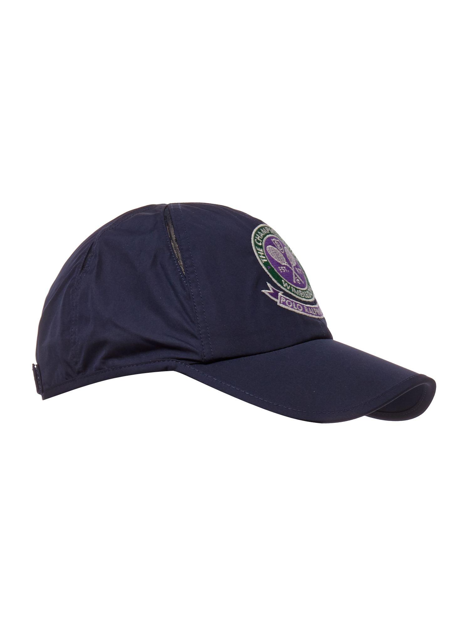 polo ralph lauren wimbledon cross court baseball cap cap embroidered. Black Bedroom Furniture Sets. Home Design Ideas
