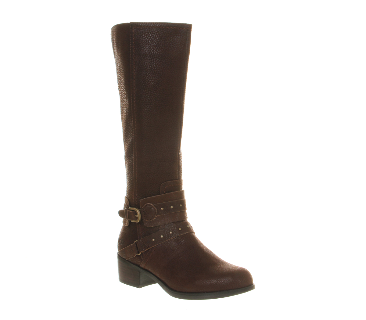 ugg esplanade calf boot in brown lyst