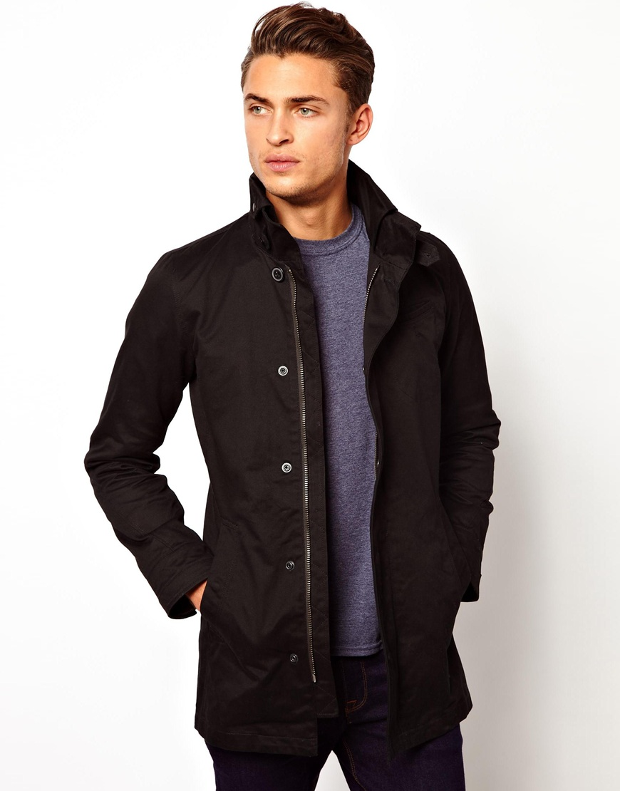 garber black single men Shop men's g-star raw coats on classic neckline, single-breasted , rear button closure, single chest pocket, multipockets jacket garber trench in black.