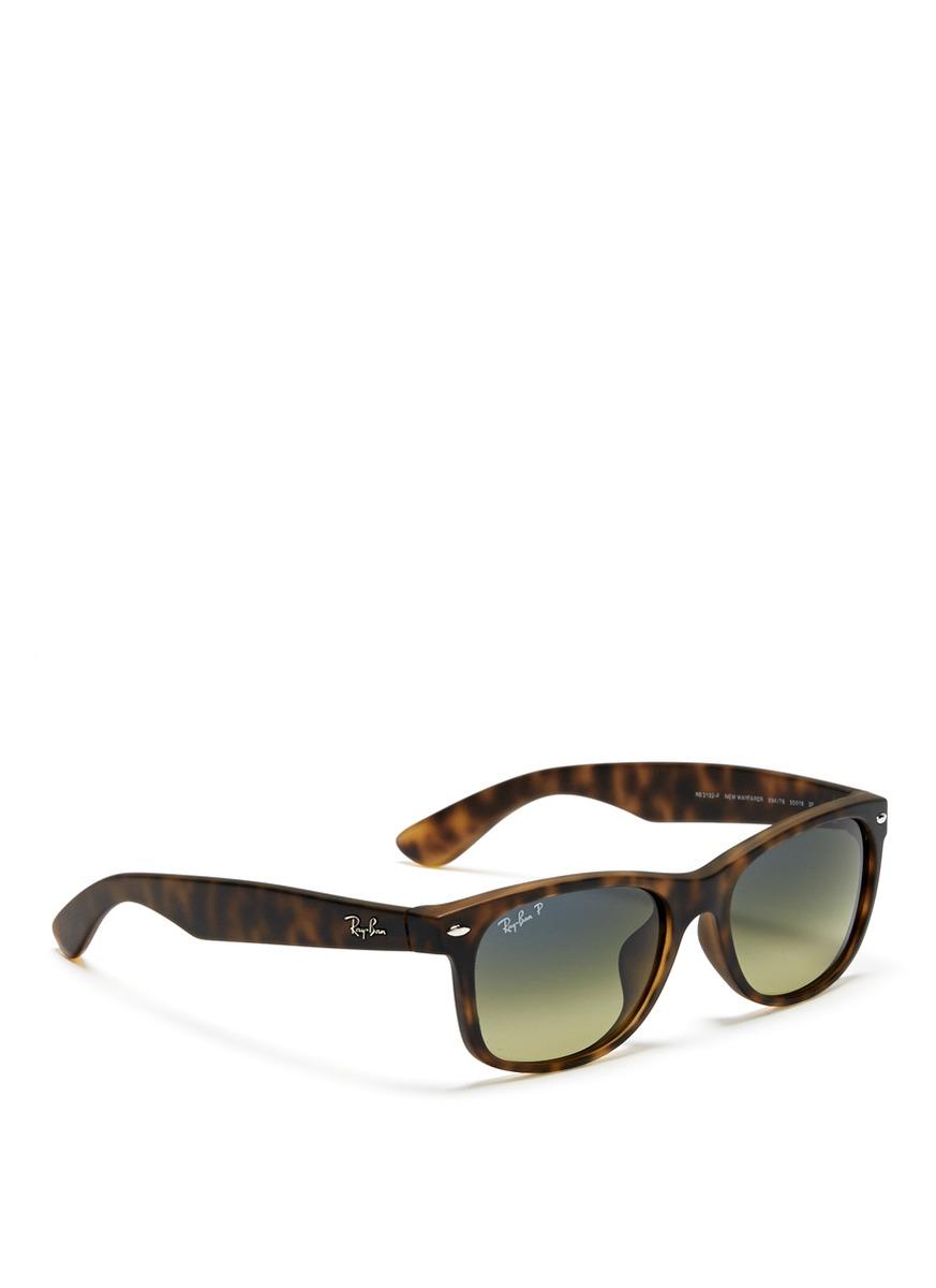 Ray-ban Matte Tortoise Shell Sunglasses in Brown for Men ...