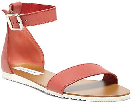 Steve Madden Waikiki in Pink (CORAL LEATHER) - Lyst