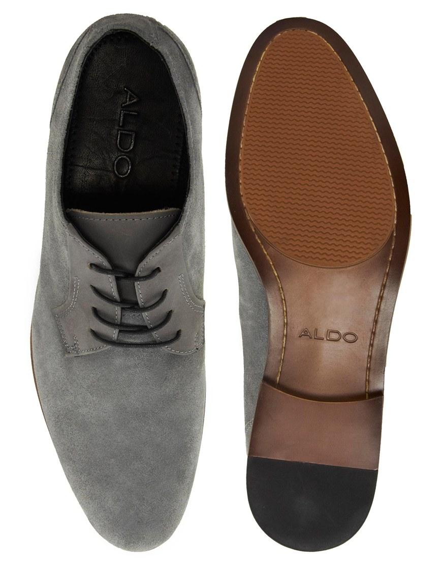 aldo mens grey shoes reduced d546f a618e
