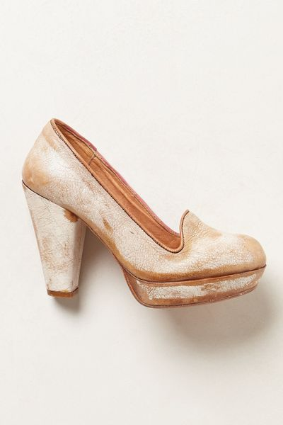 Bed Stu Briar Platforms in Beige (NUDE)
