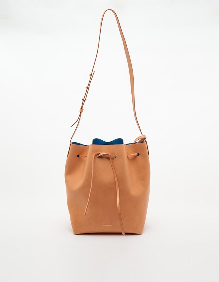 mansur gavriel bucket bag in brown lyst. Black Bedroom Furniture Sets. Home Design Ideas