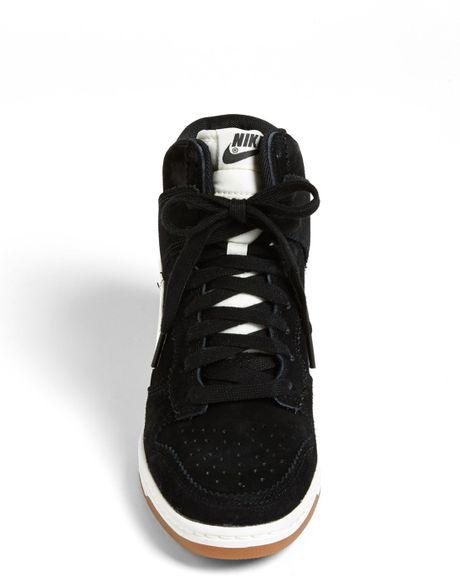 Nike Dunk Sky hi Wedge Sneaker Black Dunk Sky hi Wedge Sneaker