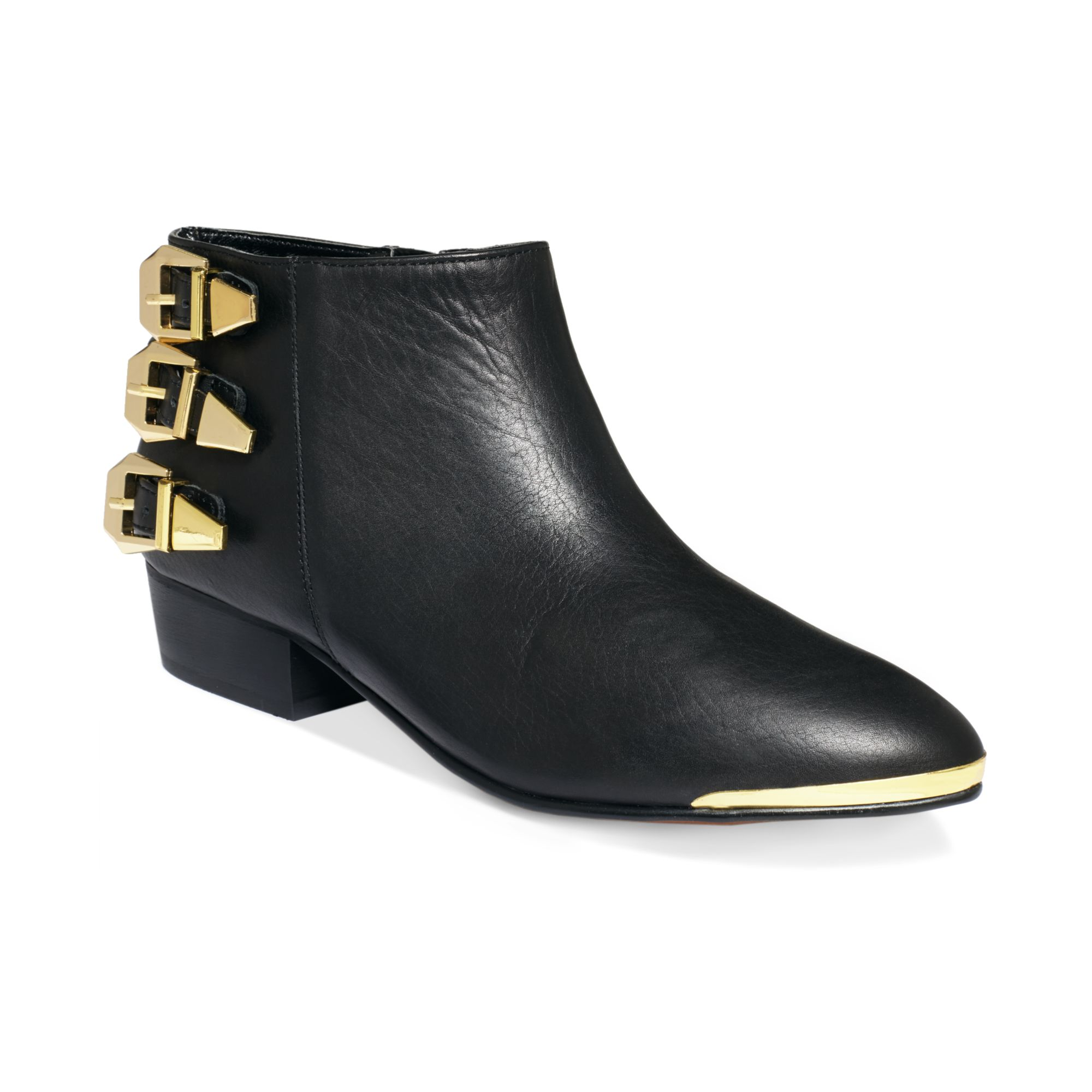 report signature noma booties in black lyst