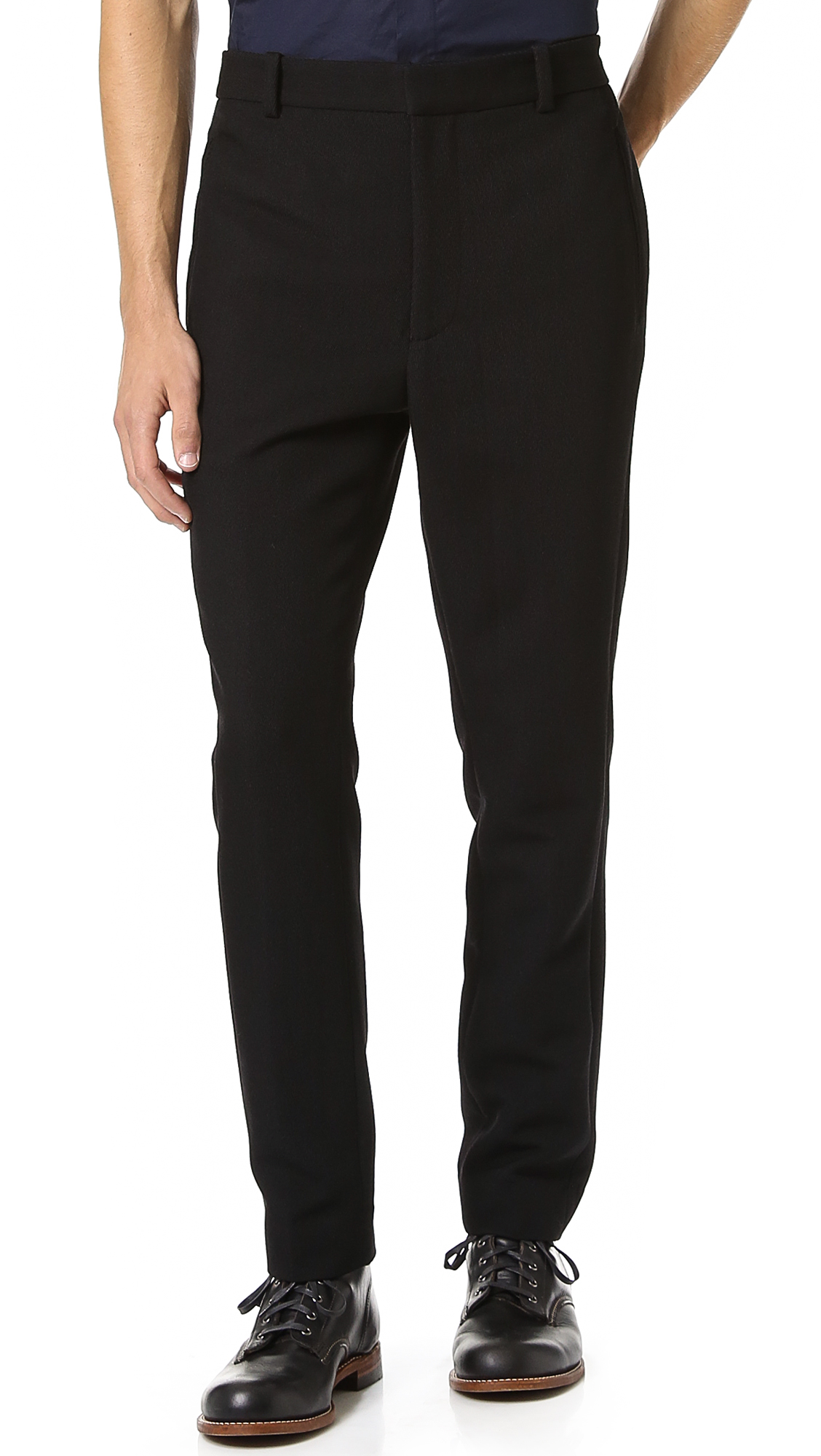 Haggar slim fit men's pants offer a slim, athletic fit for the discerning consumer who wants a well fitting pair of Haggar. Haggar Clothing Co.