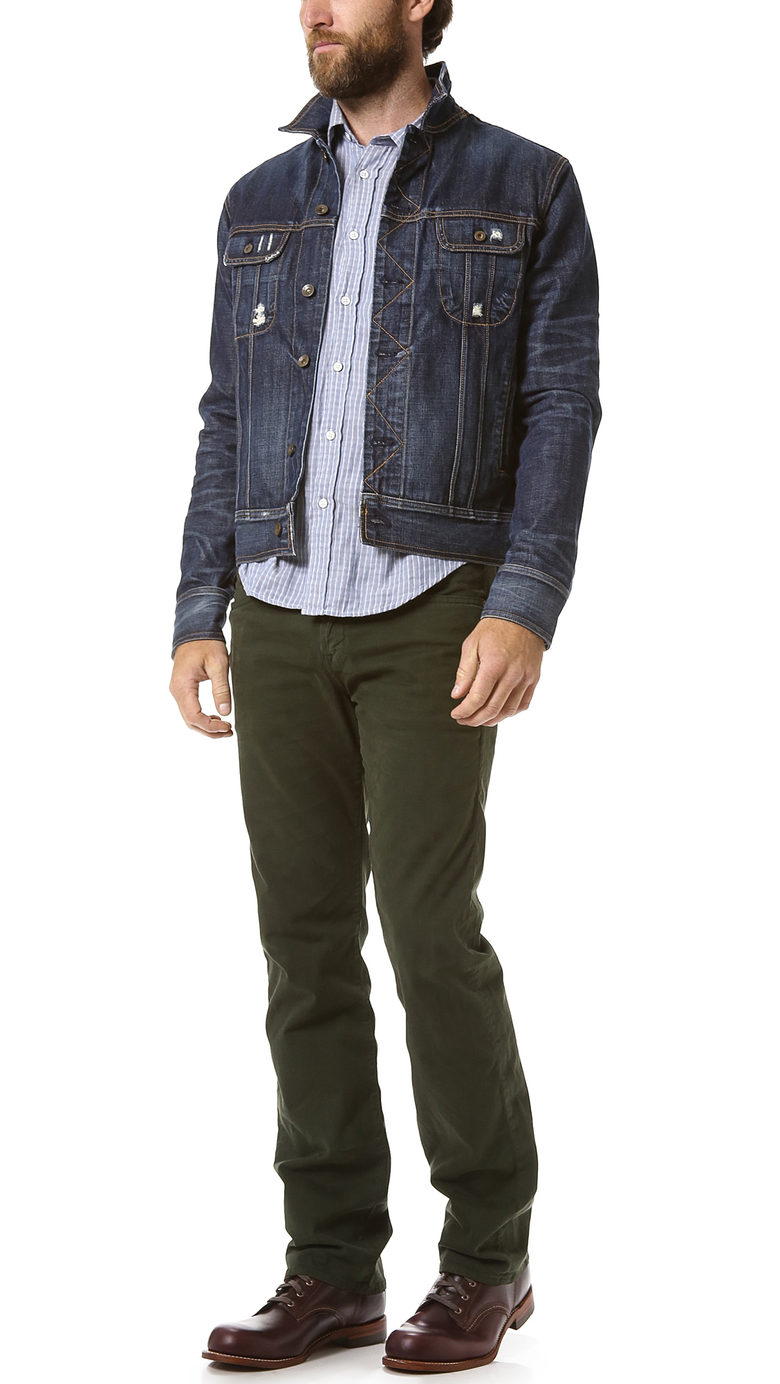 Collection Olive Green Jeans Mens Pictures - The Fashions Of Paradise