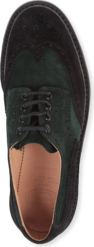 Church's Mcpherson Contrast Brogues in Green for Men