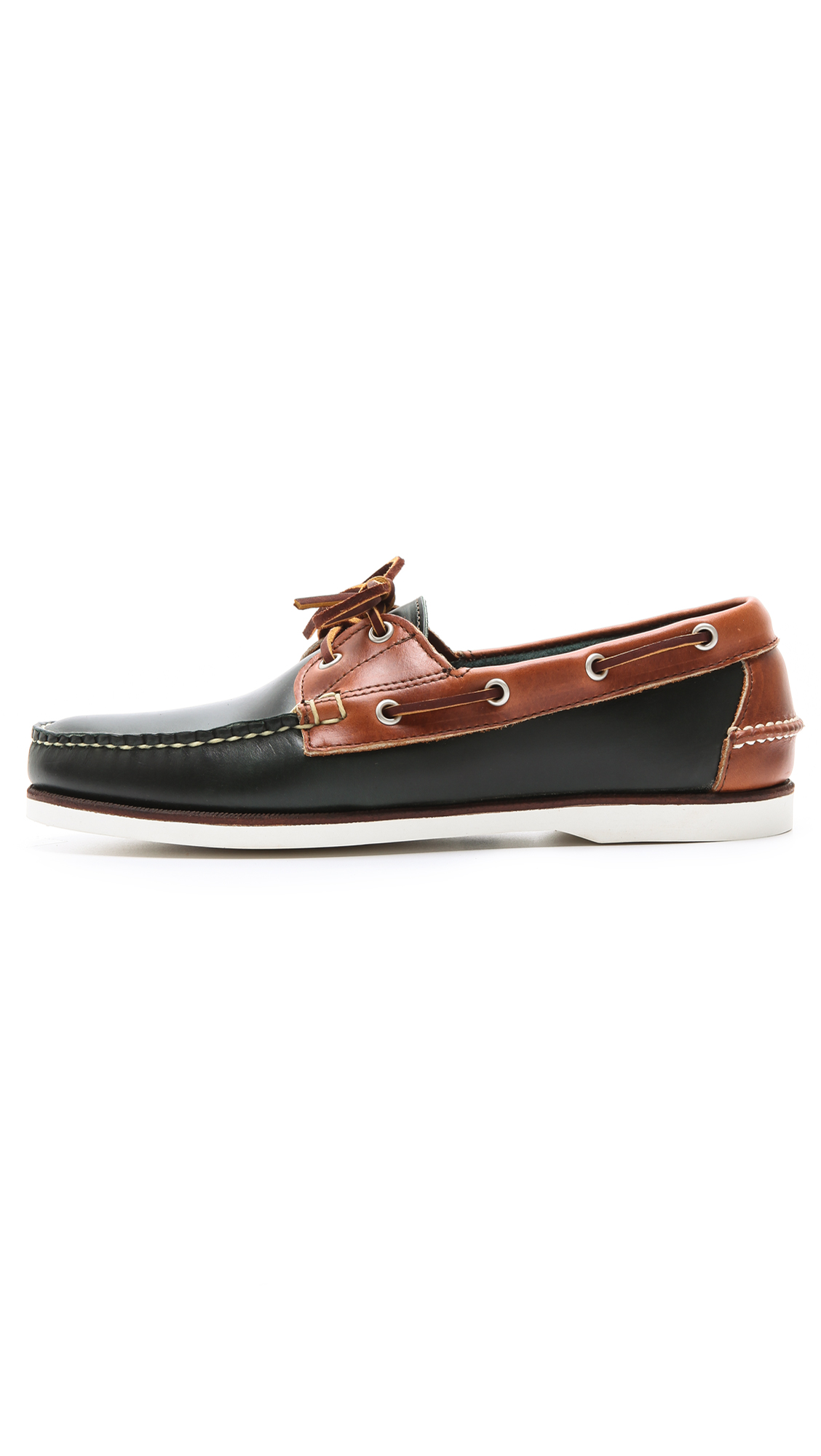 Eastland Freeport 2 Eye Boat Shoes in Brown for Men