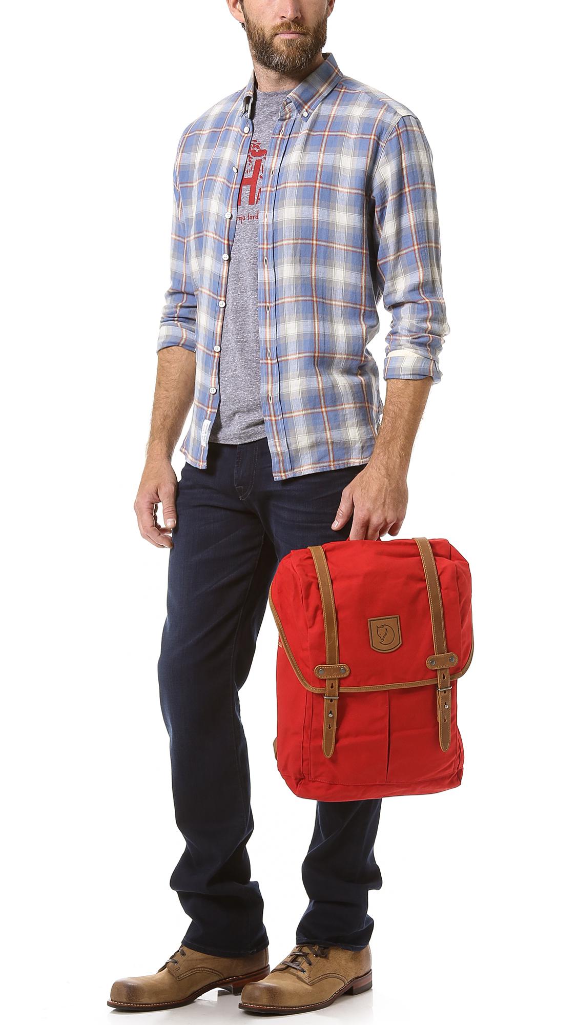 fjällräven rucksack no. 21 medium red