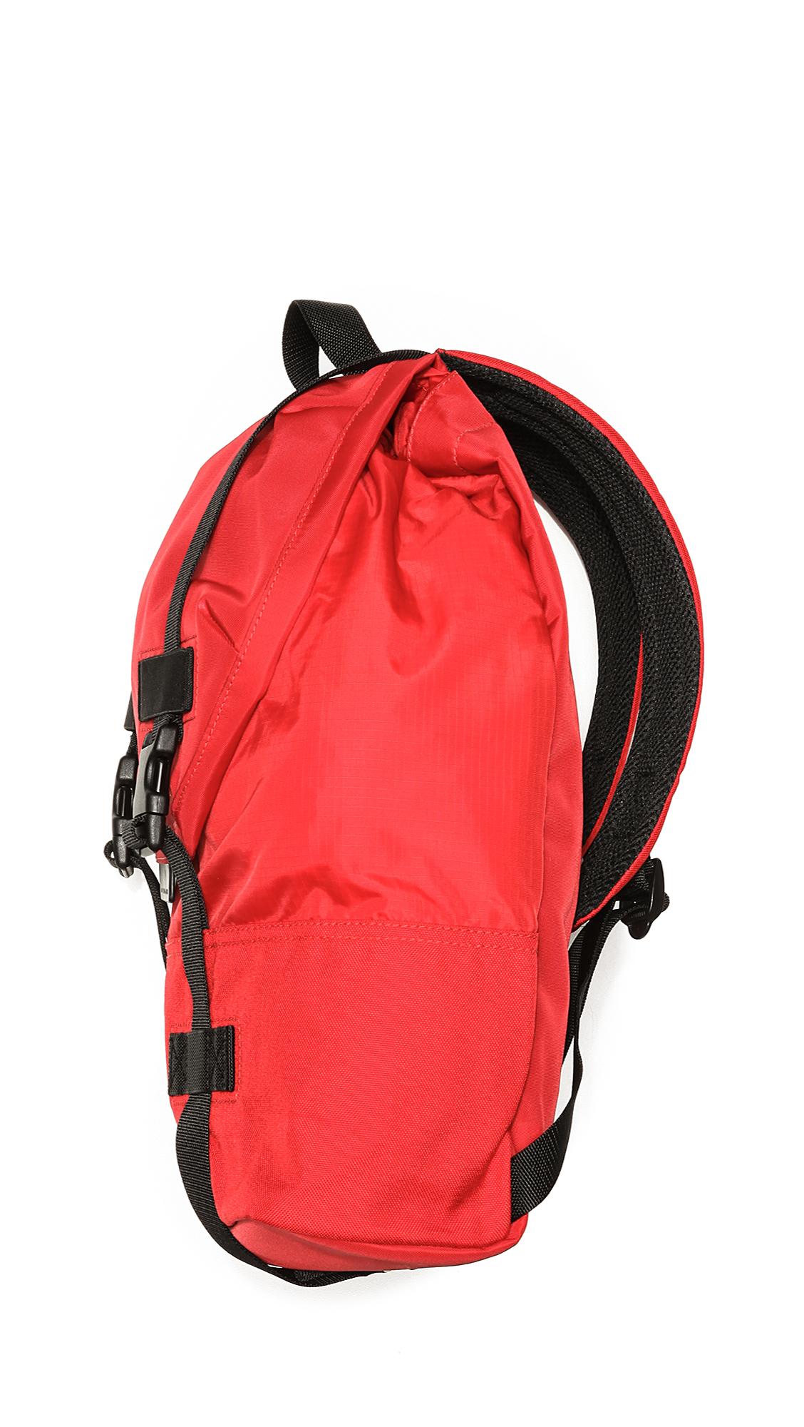 Marc By Marc Jacobs Fake It Til U Make It Sams Backpack in Red for Men