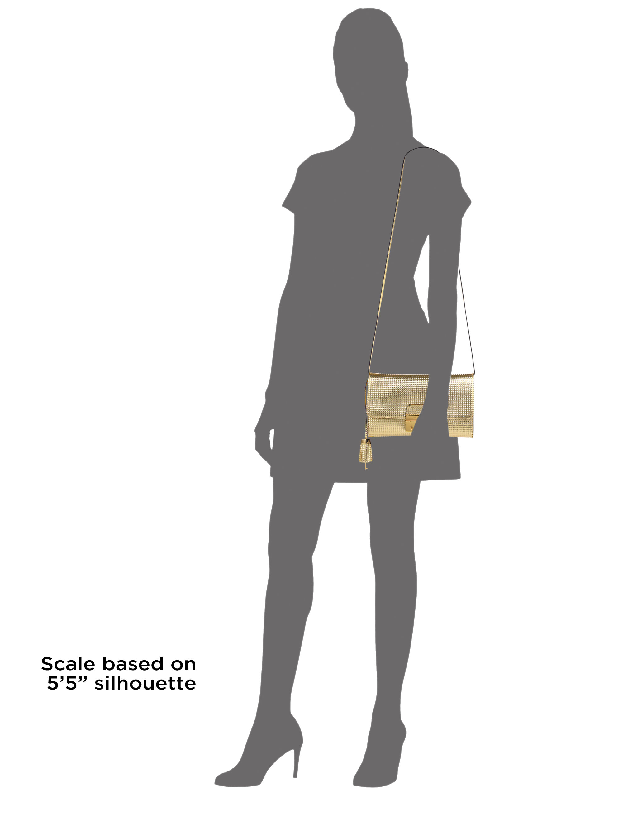 e183e607344cae Gallery. Previously sold at: Saks Fifth Avenue · Women's Metallic Clutch  Bags