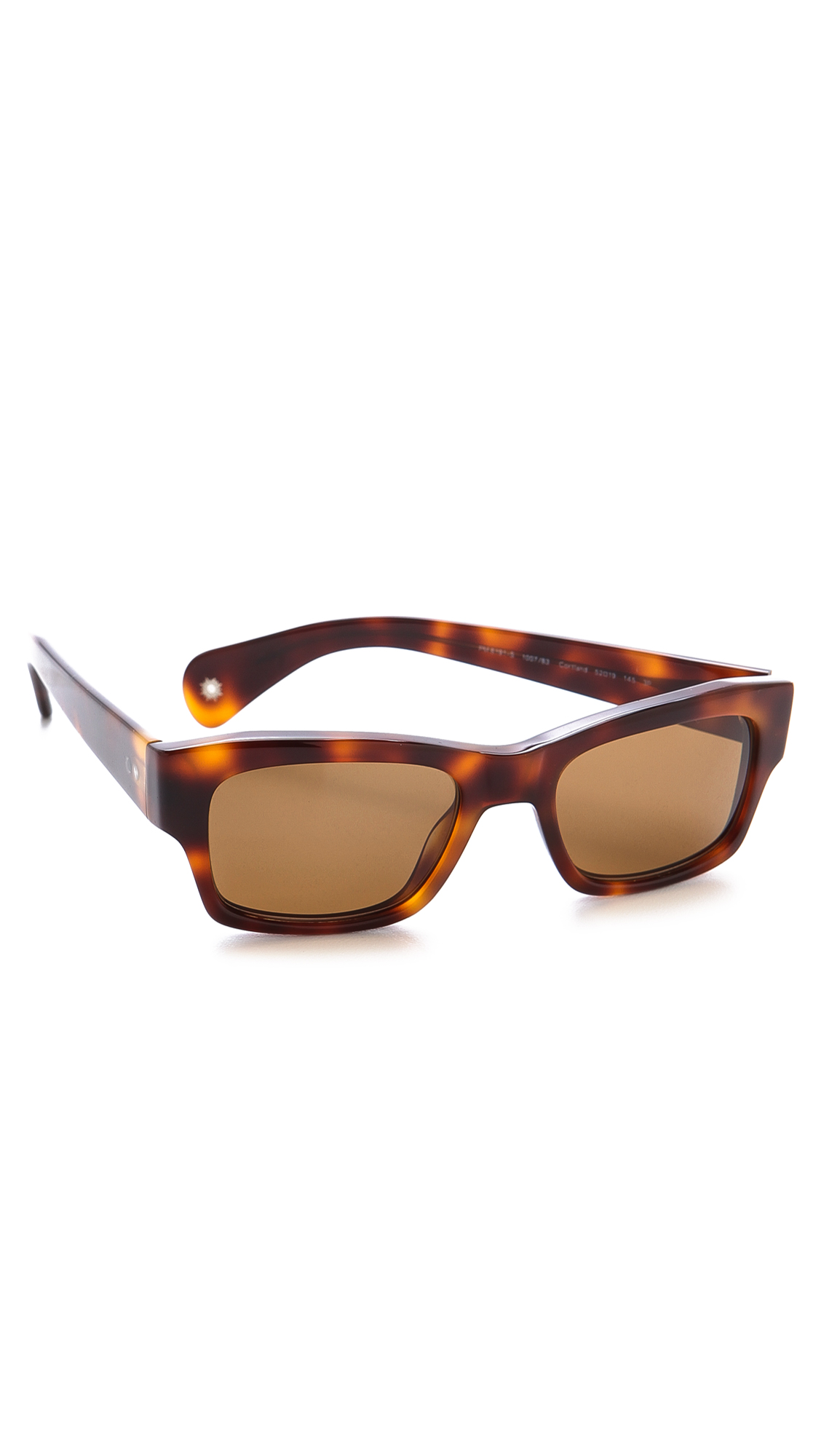 Lyst Paul Smith Cortland Polarized Sunglasses In Brown