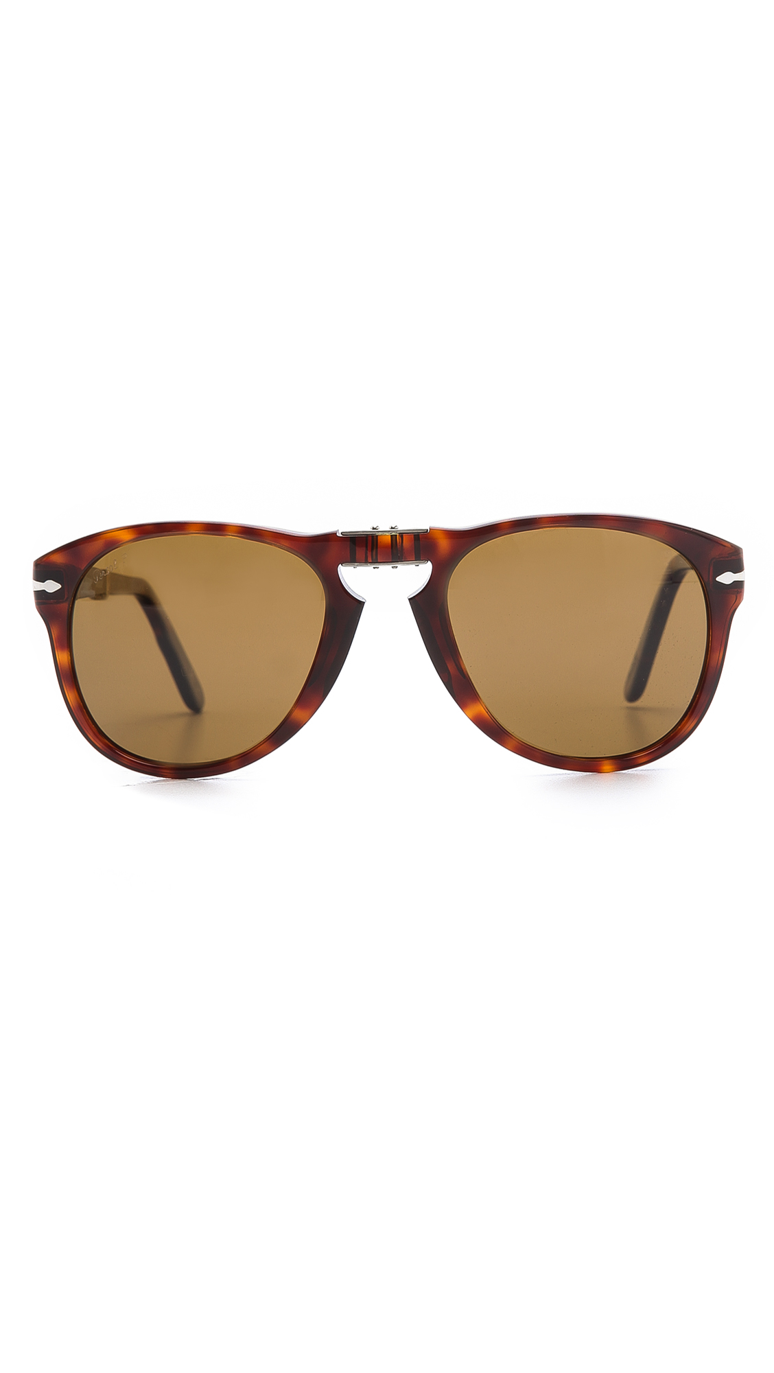Persol Classic Folding Polarized Sunglasses in Brown for ...
