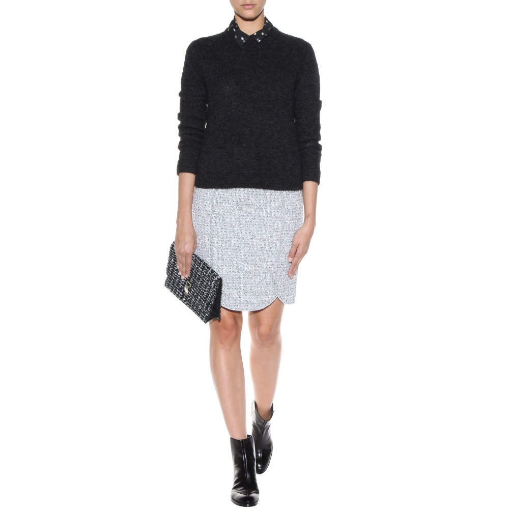 Small Lunch leather clutch Proenza Schouler