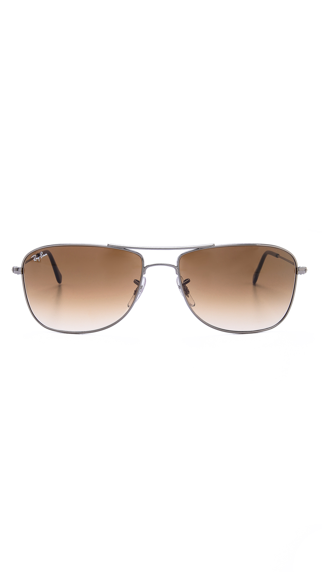 252d4c38dd9 ... real lyst ray ban caravan sunglasses in gray for men aeda5 22833