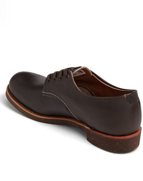 Red Wing Plain Toe Oxford Red Wing Plain Toe Derby