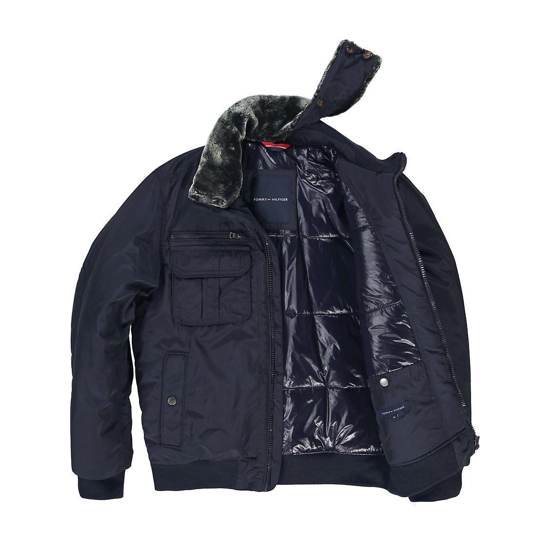 e7d8e07c1 Tommy Hilfiger Ken Bomber Jacket in Blue for Men - Lyst