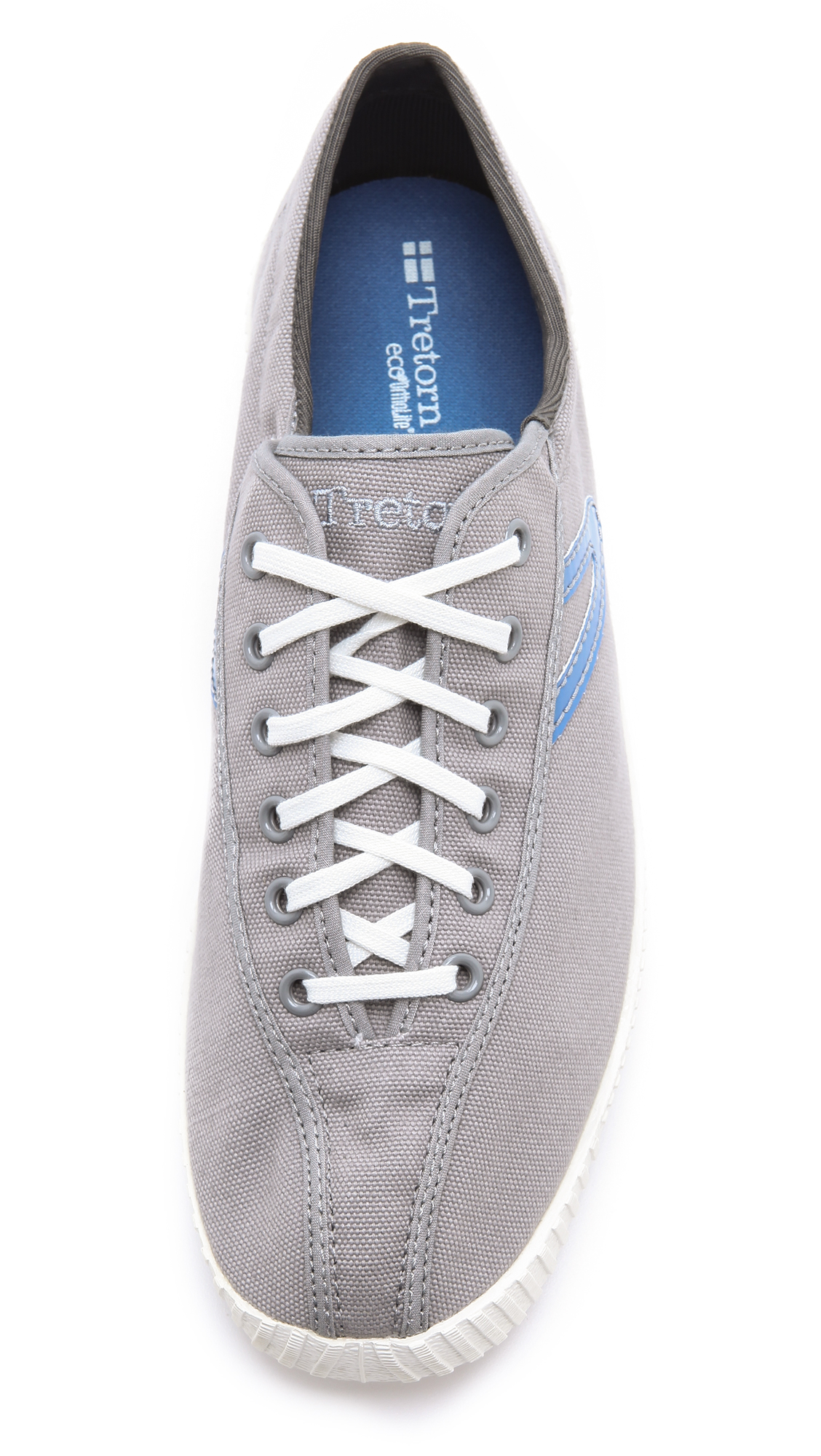 Tretorn Nylite Canvas Sneakers In Gray For Men Lyst