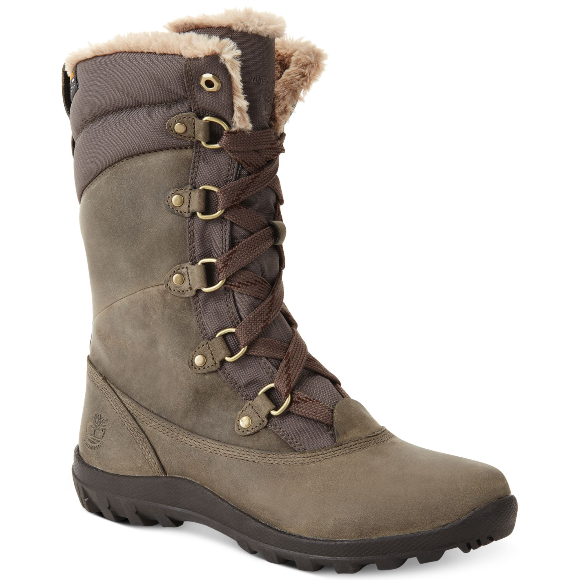 Timberland Mount Hope Snow Boots in Gray
