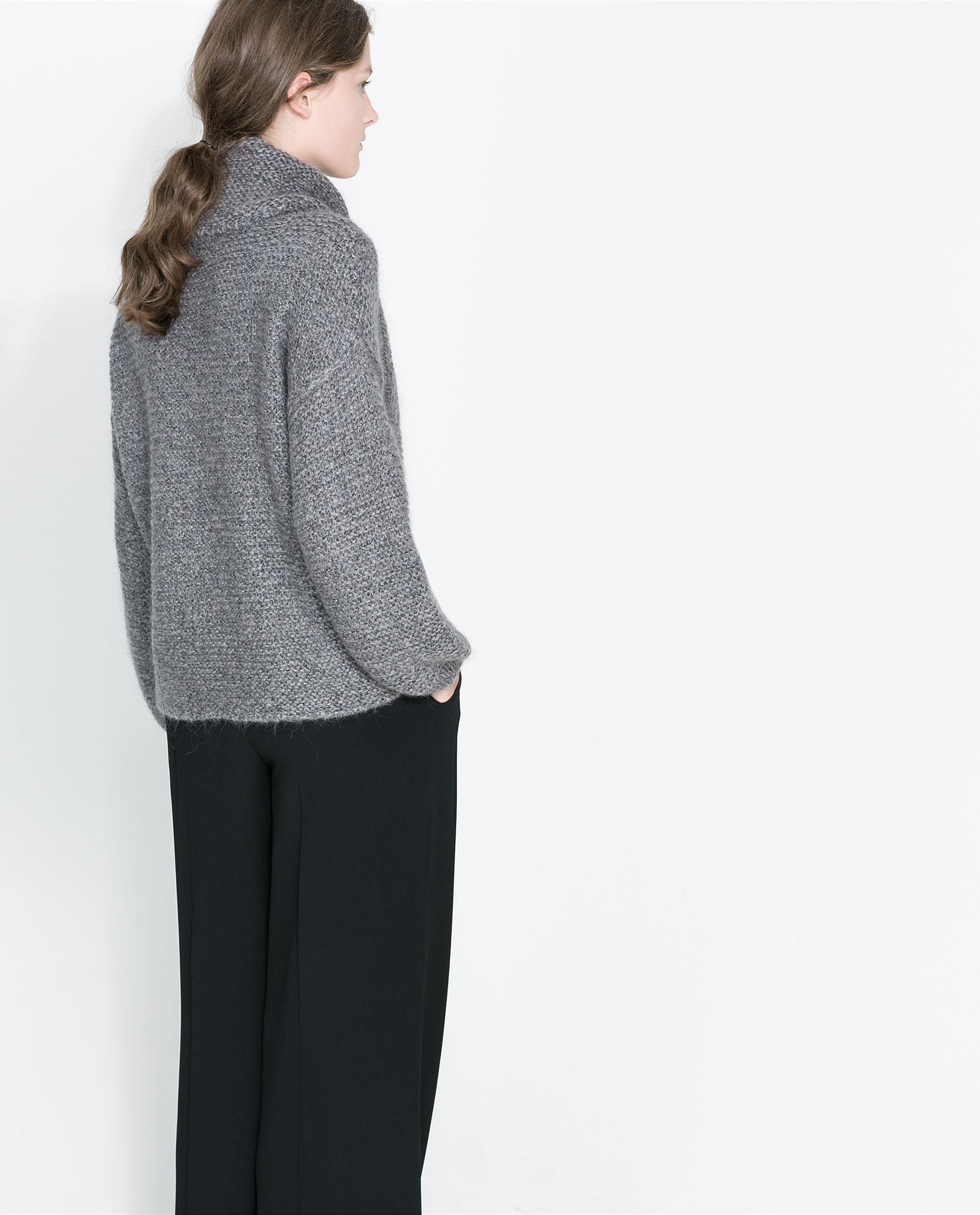 Zara Square Cut Sweater 40