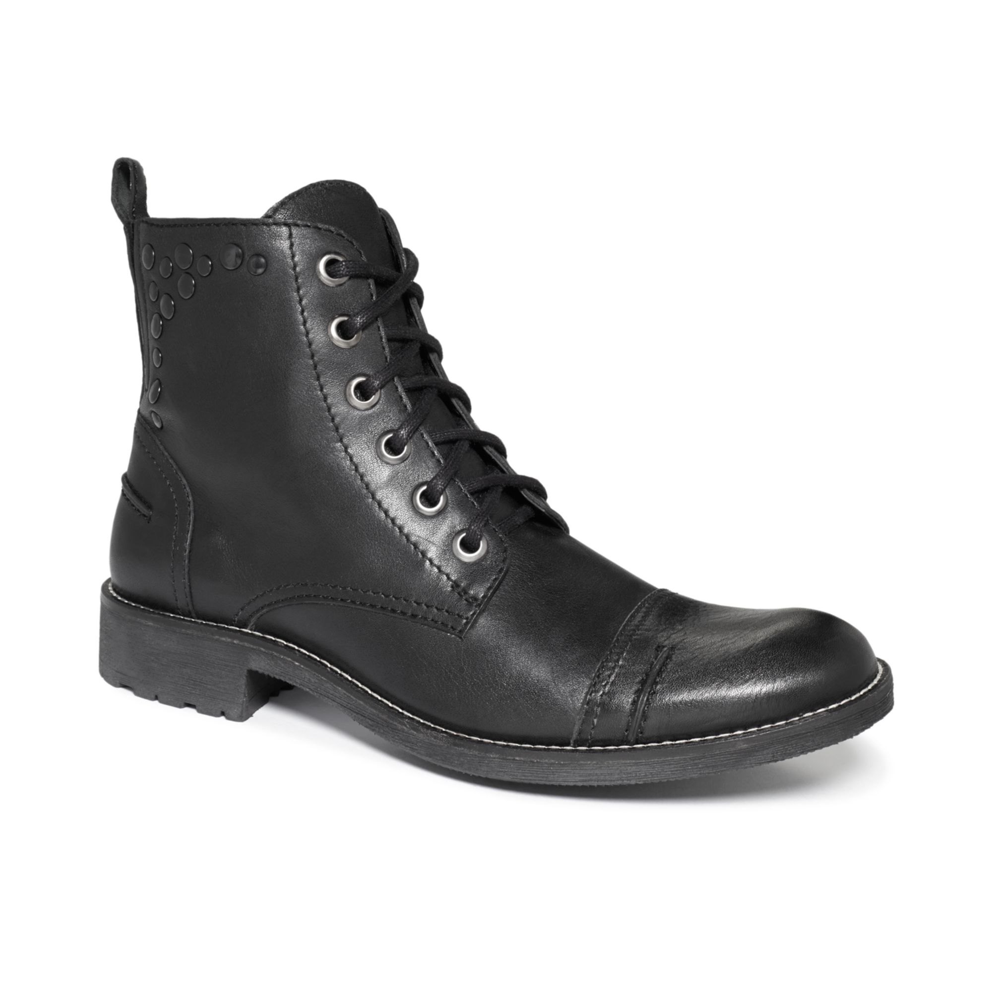 guess channing boots in black for lyst