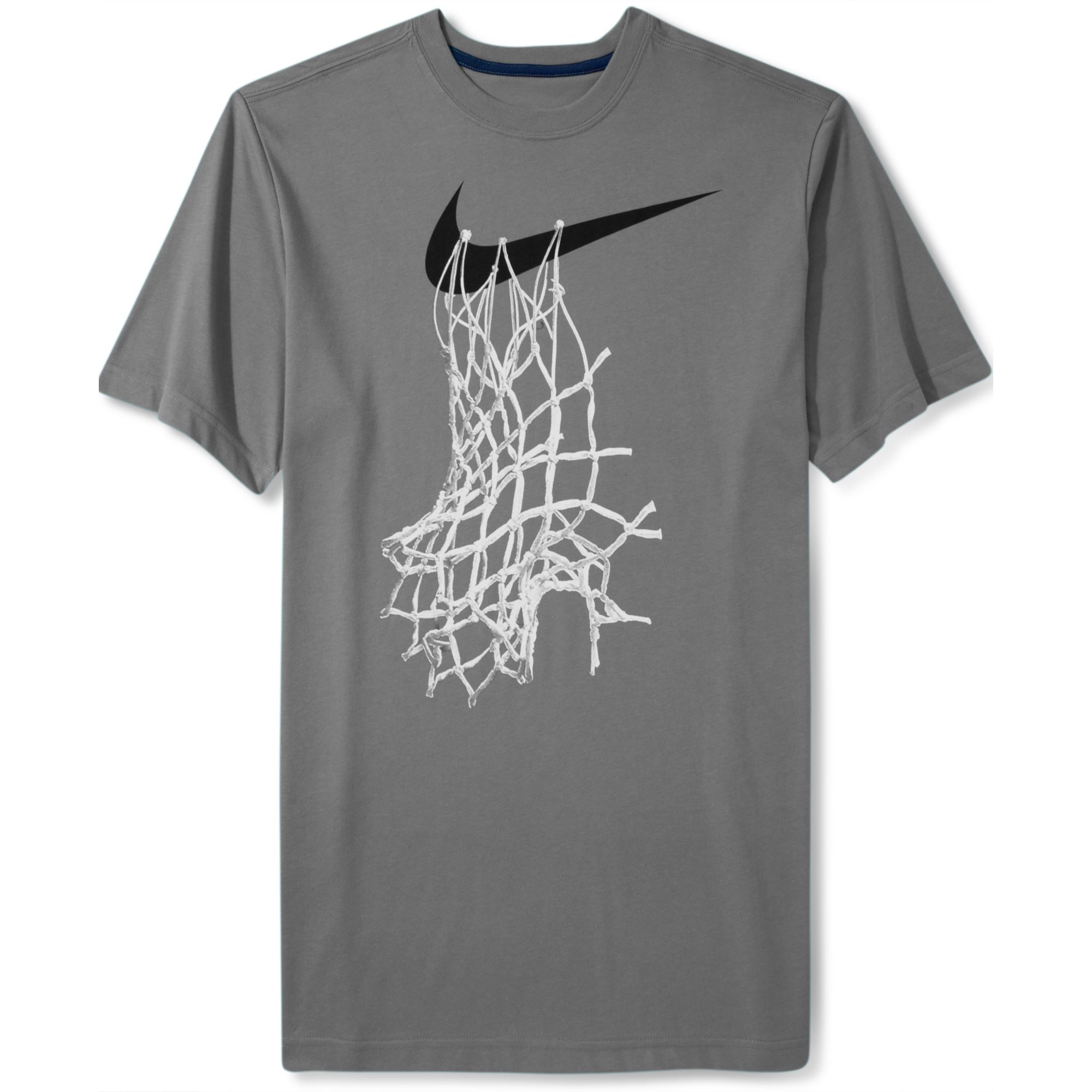 Lyst Nike Short Sleeve Graphic Basketball Net T Shirt In