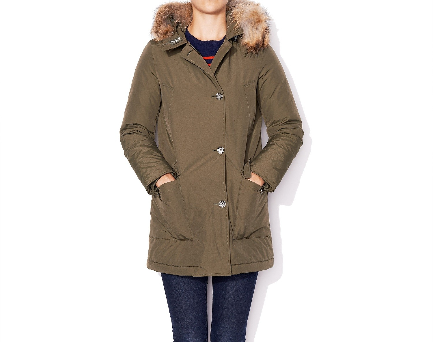 Woolrich Arctic Parka In Army Green Green Lyst
