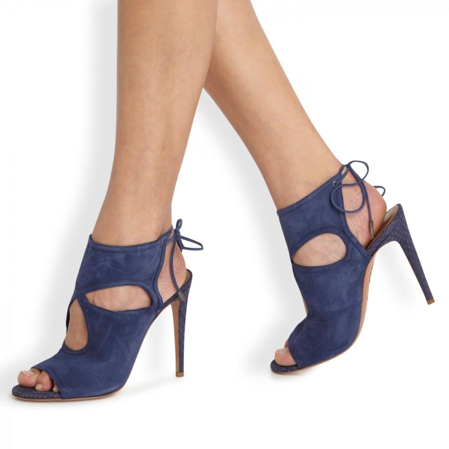 Sexy Thing sandals - Blue Aquazzura x5LaXOFxUt