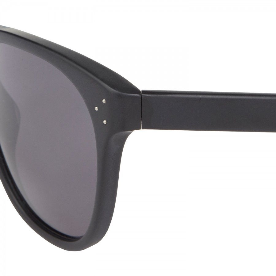 Oliver Peoples Wayfarer Style Acetate Sunglasses in Black