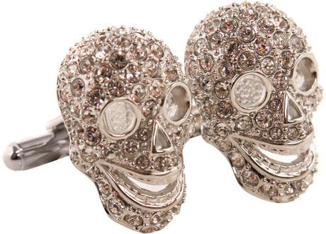 Crystal Skull Tattoo Tattoo Skull Cufflinks in